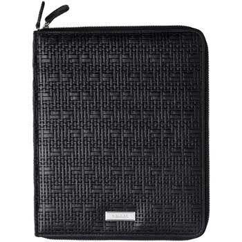 Nina Ricci Leather Pouch for iPad, Black