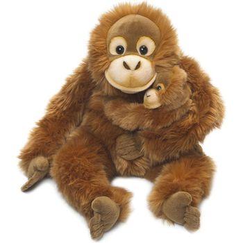 WWF Orangutan Mother & Child Plush Animal