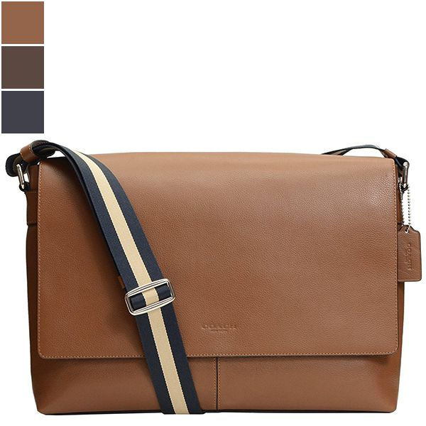Coach Charles Messenger Smooth Leather Bag Image