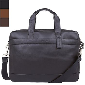 Coach HAMILTON Smooth Leather Briefcase