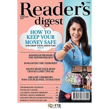 Reader's Digest GyFTR  Digital Annual Subscription Gift Voucher