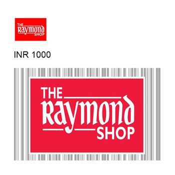 The Raymond Shop Instant GyFTR Gift Voucher INR1000