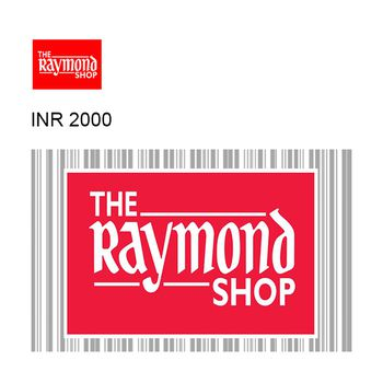 The Raymond Shop Instant GyFTR Gift Voucher INR2000