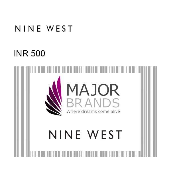 Nine West GyFTR Instant Gift Voucher INR500 Image