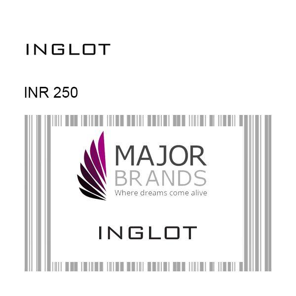 INGLOT GyFTR Instant Gift Voucher INR250 Image