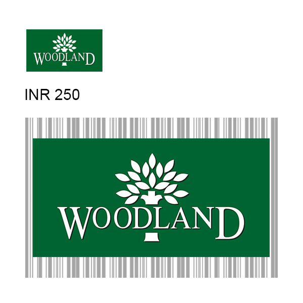 Woodland GyFTR Instant Gift Voucher INR250 Image
