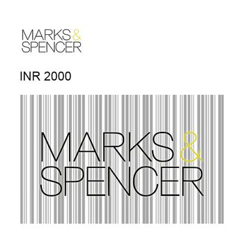 Marks & Spencer GyFTR Instant Gift Voucher INR2000