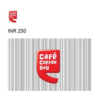 Café Coffee Day Online GyFTR Instant Gift Voucher INR250