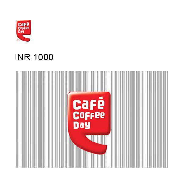 Café Coffee Day Online GyFTR Instant Gift Voucher INR1000 Image