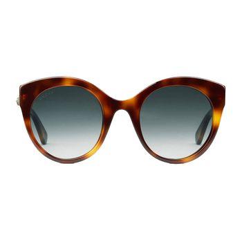 Gucci Women's Cat-Eye Sunglasses GG0028S
