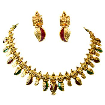 SURAT DIAMOND PS260 Necklace & Earring Set