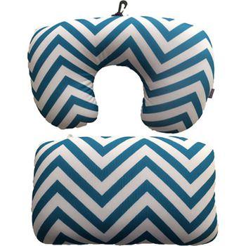 Viaggi 2-in-1 Microbeads Convertible Neck Pillow