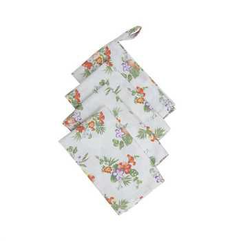 Bliss Printed Kitchen Linen Set, Multi-Color