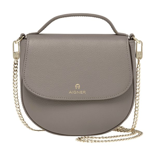 Aigner Leather Saddle Bag Image