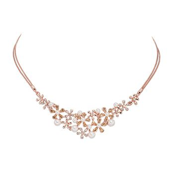 Pica LéLa GALAXY Crystal Pearl Necklace