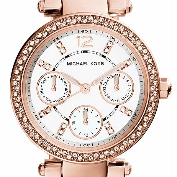 Michael Kors MINI PARKER Ladies Watch - Rose GoldImage