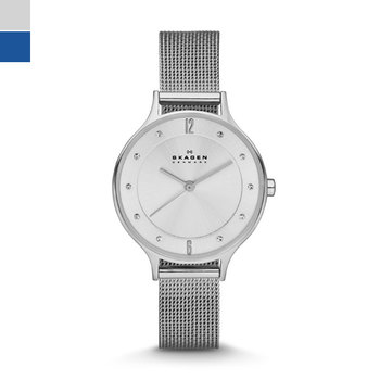 Skagen ANITA Silver-Tone Ladies Watch