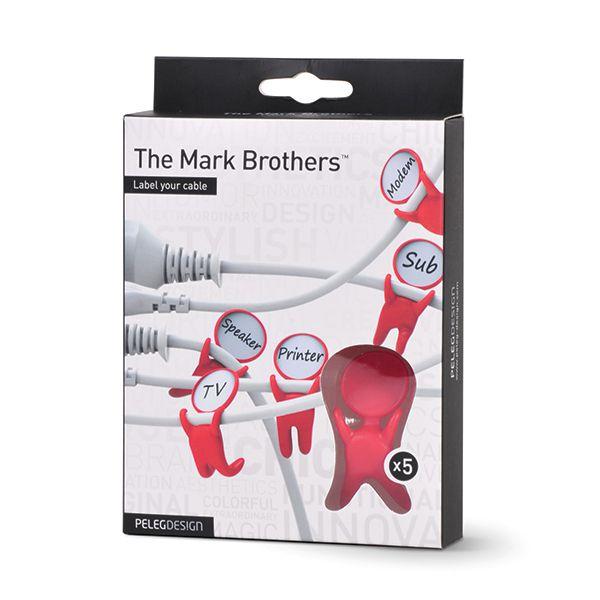 Peleg MARK BROTHERS Identificadores de cabosImagem