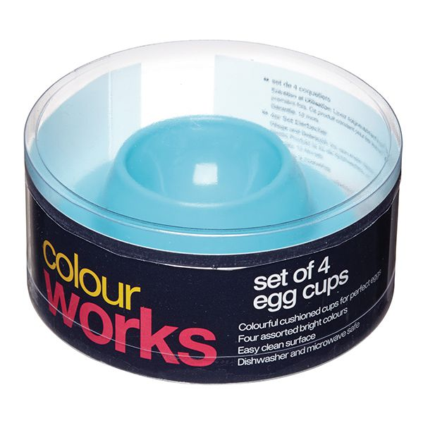 Colourworks Portauova in silicone – set da 4 pezziImmagine