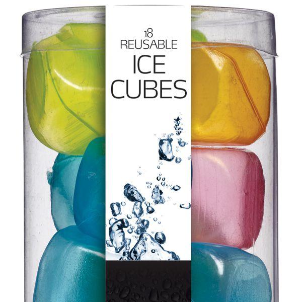 BarCraft Cubos de gelo reutilizáveis - conjunto de 18Imagem