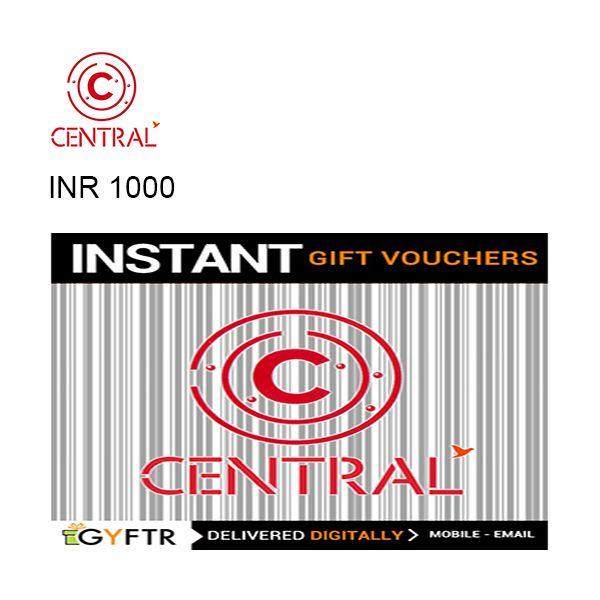 Central GyFTR Instant Gift Voucher INR1000 Image