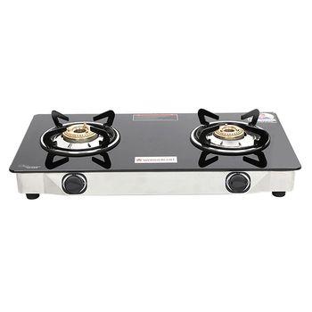 Wonderchef ZEST 2-Burner Glass Cooktop