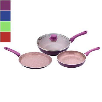Wonderchef ROYAL VELVET PLUS Cookware Set 3pcs