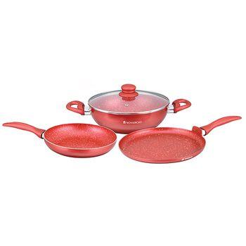 Wonderchef GARNET Cookware Set 3pcs