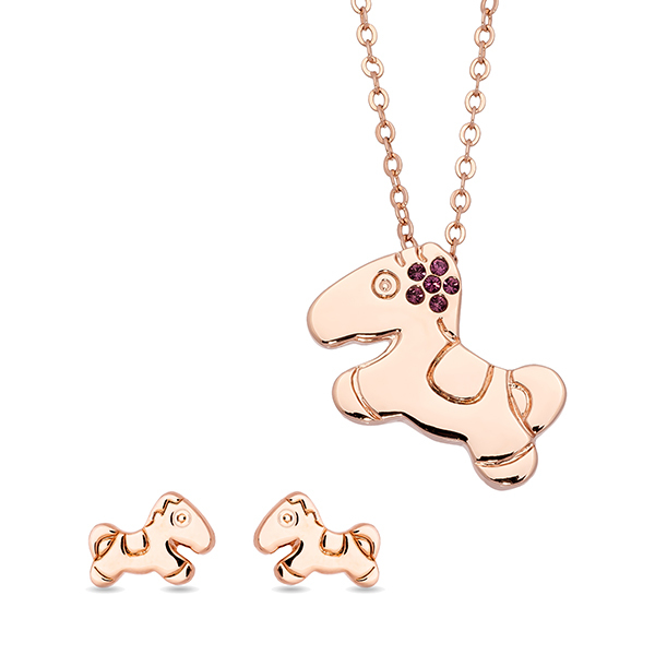 Pica LéLa LITTLE PONY Earring and Necklace SetImage