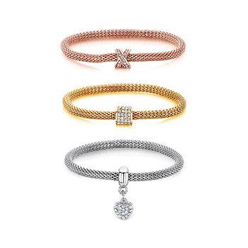Buckley London Sparkle Mesh Bracelet Set of 3