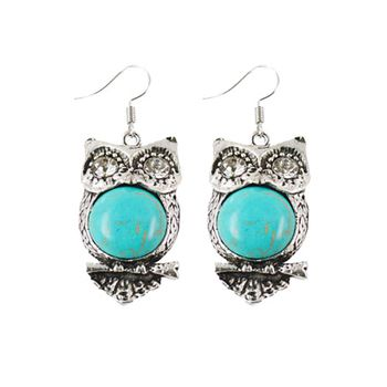 excitingLives FUNKY Owl Earrings