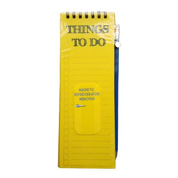 excitingLives Things to Do Magnetic Memo Pad