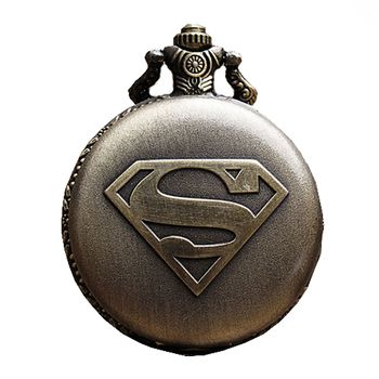 excitingLives Super Man Vintage Pocket Watch