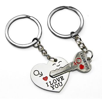 excitingLives Key To My Heart Keychain