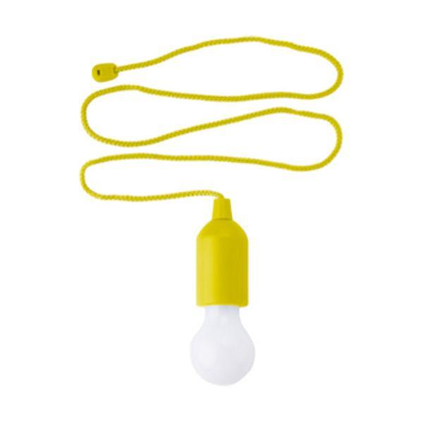 Luz colgante en ABS con bombilla LED de AlcaliImagen