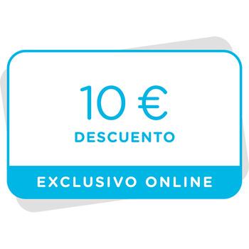 Vale de 10€ de descuento en tu próxima compra en la tienda online