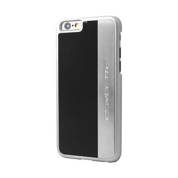 Corvette C7 Silver Brushed Aluminium Finish Case for iPhone 6/6S
