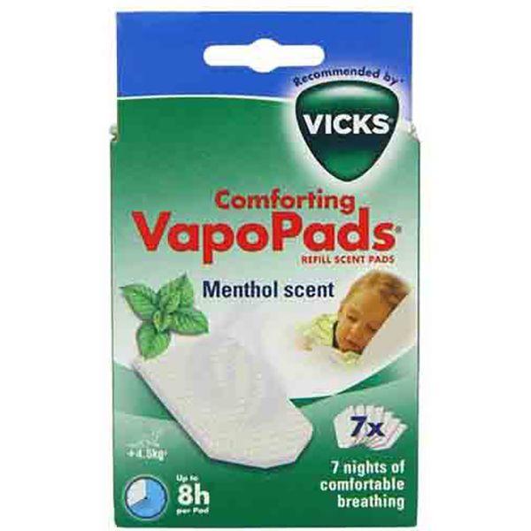 Vicks VH 7 Comforting VapoPads MetholImage