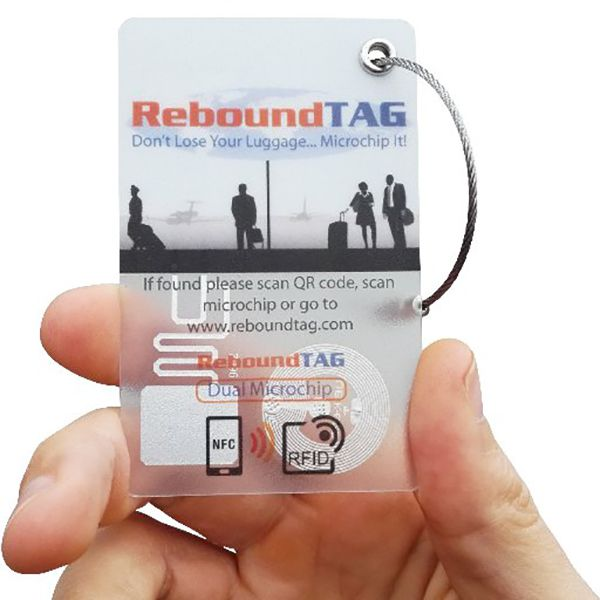 ReboundTAG Microchip Luggage Tag - Family PackImage