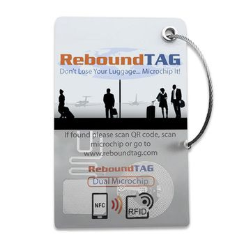 ReboundTAG Microchip Luggage Tag - Corporate Pack