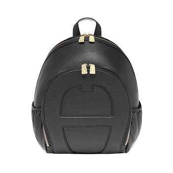 Aigner Leather Backpack M