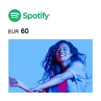 Spotify eGift Card €60