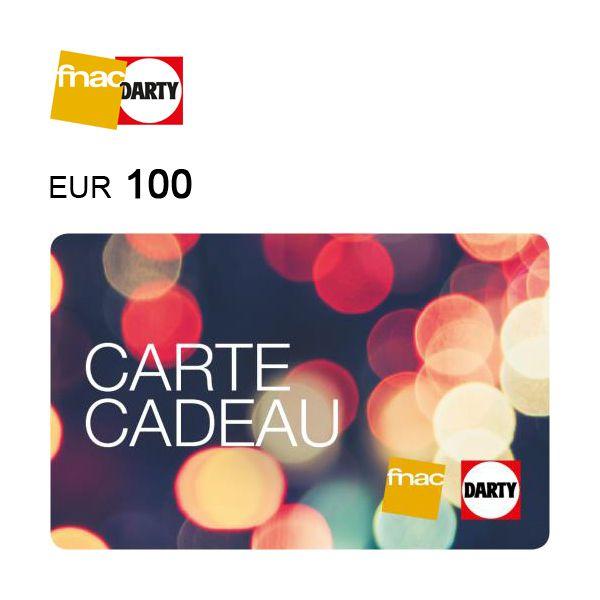 Fnac Darty e-Gift Card €100Image