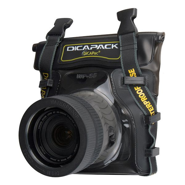 DiCAPac Waterproof Case for Mid Range DSLR Cameras Image