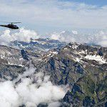 Alpine Helicopter Flight