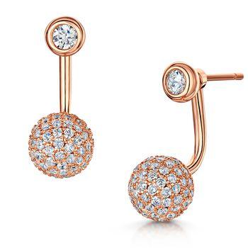 Infinity & Co SOPHIA Pavé Earrings