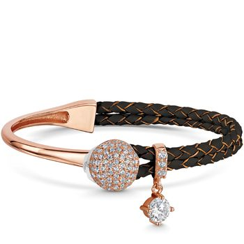 Infinity & Co DIANNA Leather Bracelet