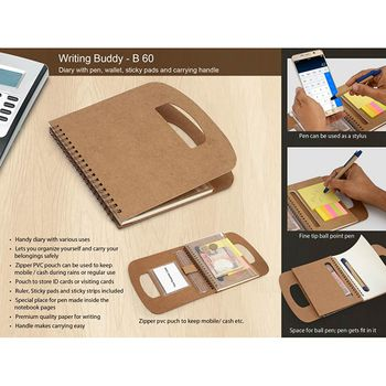 Power Plus All in 1 Diary W/ Wallet