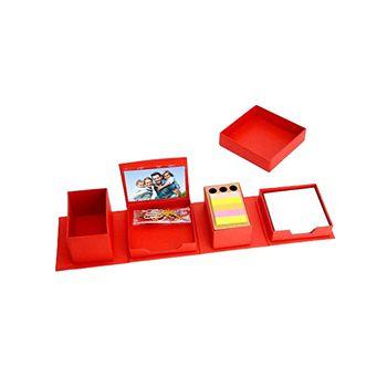 Power Plus Transformer Expandable Cube Complete Desk Set