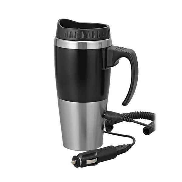 Power Plus Car Heater Mug W/ Car USB Charger Image